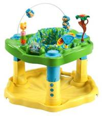 Игровой центр ExerSaucer Bounce and Learn Zoo Friends