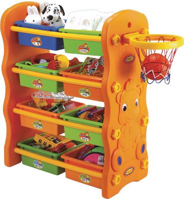Шкафчик для игрушек Мишка KU-1701