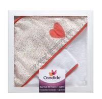 Набор банный Candide(полотенце+варежка)