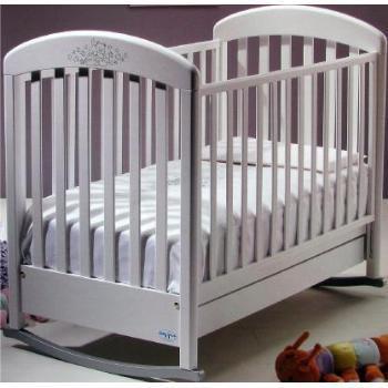 Кроватка - качалка Cinzia Lux со стразами
