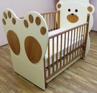 Детская кроватка Puffa Мишарик