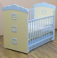 Детская кроватка Puffa Денди