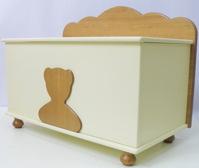 Ящик для игрушек Puffa Мишарик