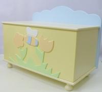 Ящик для игрушек Puffa Пчелка