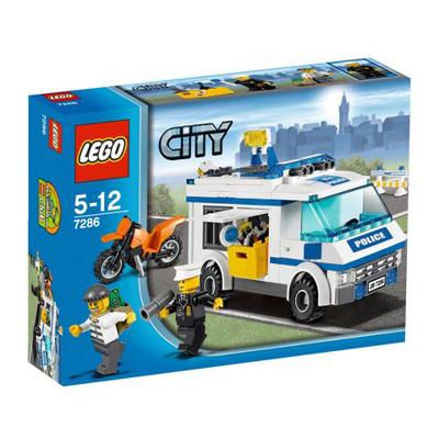 Конструктор Lego  Город Перевозка заключенных