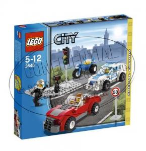 Конструктор Lego  Город Полицейская погоня