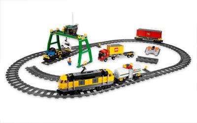 Конструктор Lego Город Товарный поезд