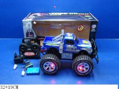 Машинка Joy Toy Джип светящиеся колеса р/у