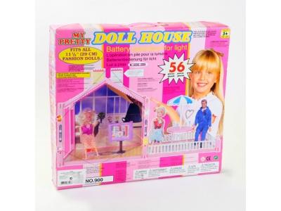 Кукольный домик  56 деталей
