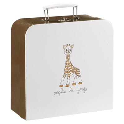 Подарочный набор жираф Софи в чемодане