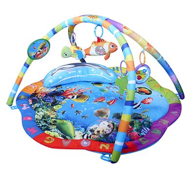 Развивающий коврик Подводный мир