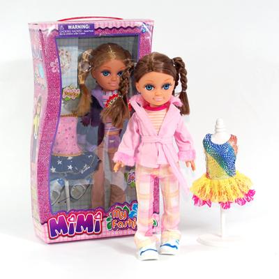 Кукла Mimi c манекеном и гардеробом