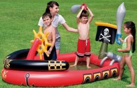Игровой центр пиратский корабль с водяной пушкой BestWay 53041