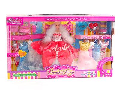 Кукла Анита с аксессуарами
