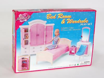 Набор спальной мебели для кукол