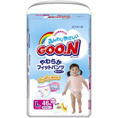 Трусики-подгузники Goon от 9 до 14 кг,46 шт. L