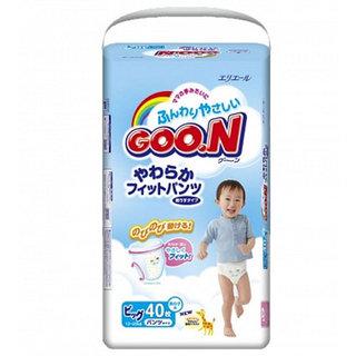 Трусики-подгузники Goon от 12 до 20 кг, 40 шт. XL