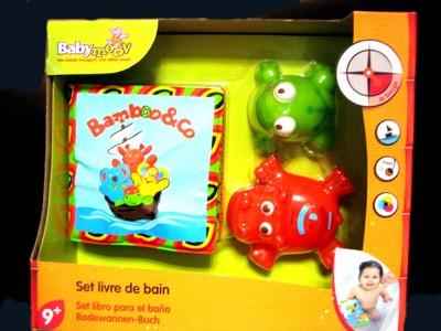 Игрушка для купания (книжка +игрушки)