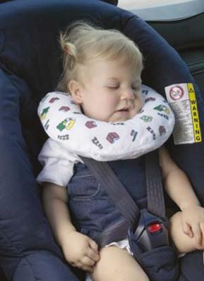 Подголовник детский надувной для путешествий  38004