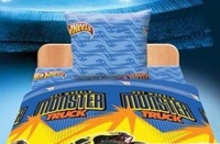 КПБ 1,5 бязь Hot Wheels Монстер трек