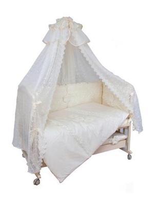 Комплект в кроватку 7-ми предметныйМой Ангелок 2035