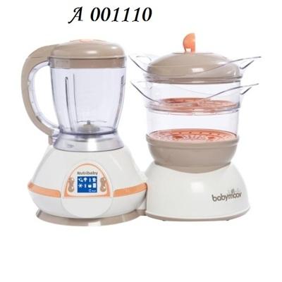 babymoov Кухонный комбайн-пароварка Nutribaby А001110 064321