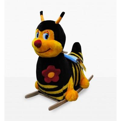 Качалка меховая Пчелка тутси
