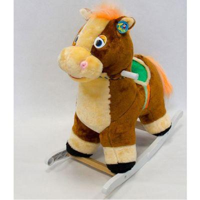 Качалка меховая лошадка тутси