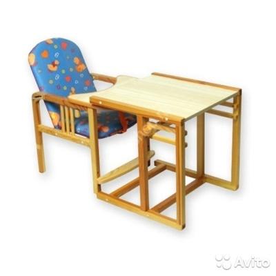 Стол-стул для кормления трансформер Гном Котенок утка 210154