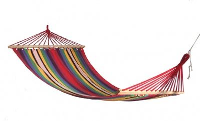 Гамак тканный радуга H18 024222