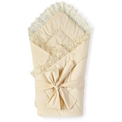 Конверт-одеяло на выписку Люкс К90 (тиси, синтепон)