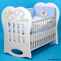 Кроватка - качалка baby italia  Crystal