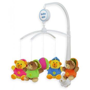 babymix Карусель музыкальная Веселые мишки 436505