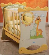 Кроватка-качалка Baby Italia  Lucy