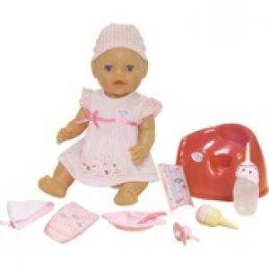 Кукла Покорми меня  Baby born 43 см
