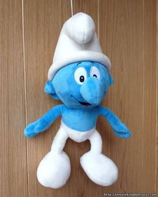 Мягкая игрушка гном Смурфик 60 см (3 вида)