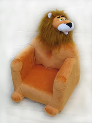 Детское мягкое кресло Лев (игрушка)