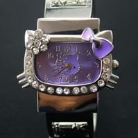 Детские наручные часы Hello Kitty браслет