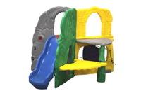 Детский игровой комплекс Джунгли с горкой