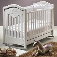 Кроватка - качалка  Gioco Lux
