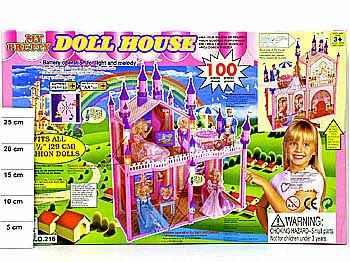 Замок для барби 100 деталей