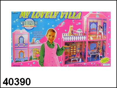 Дом -вилла для барби 40390