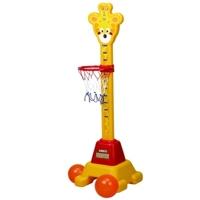 Кольцо для баскетбола с ростомером +мячи