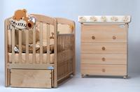 Кроватка - маятник Leo Baby Italia
