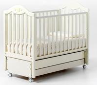 Детская кроватка-маятник Didi со стразами