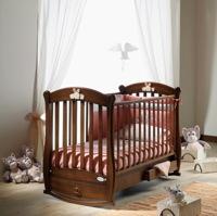 Кроватка-качалка Baby Italia Rosa Vip