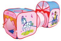 Игровая палатка с тоннелем Карета для Принцессы