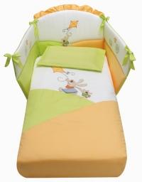Комплект постельного белья 4 предмета Baby Italia Aquilone