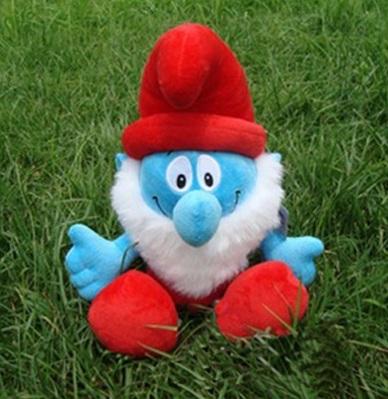 Мягкая игрушка Папа Смурф 30 см