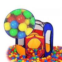 Палатка игровая с люком +100 шаров BT-0401